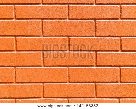 Abstract weathered texture stained old stucco orange and aged paint white brick wall background in rural room grungy rusty blocks of stonework technology color horizontal architecture wallpaper