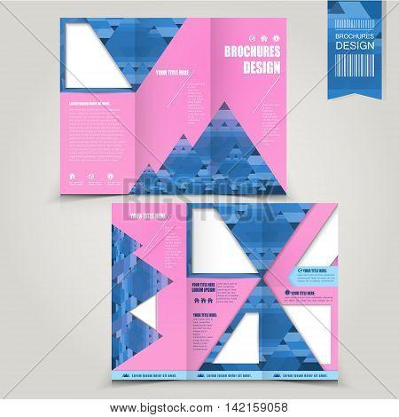 Creative Tri-fold Brochure Template Design