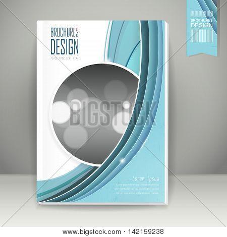 Elegant Book Cover Template Design