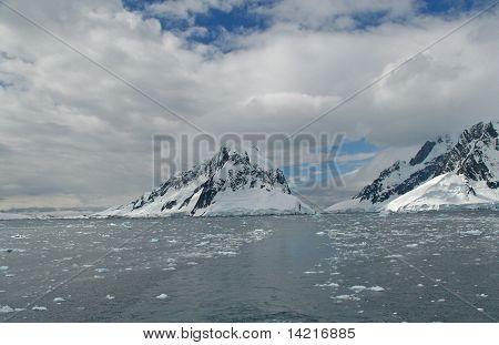 Iceberg, Brash Ice, Mountain Glacier