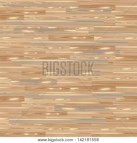 Seamless Parquet Flooring. Parquetry Texture. Floor Background. Vector Wood Pattern. Laminate Flooring with Planks for Your Interior Design. Light Wood.