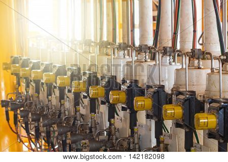 Control valve in oil and gas process