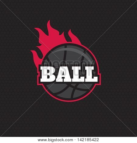Basketball team logo. Basketball logotypes sign symbol badge
