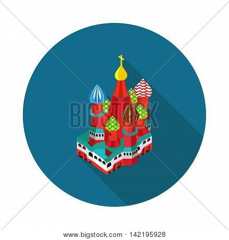 St. Basil is Cathedral in vector format eps10