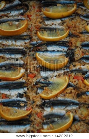 Anchovies and Pilaw