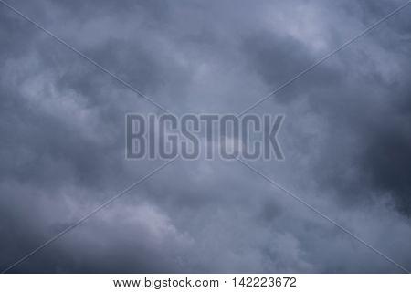 Rainy (or rain) cloud gray color background
