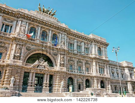 Supreme Court Of Cassation In Rome Of Italy
