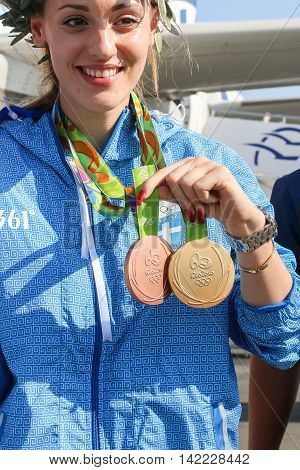 Greek Shooting Star Anna Korakaki - Rio Olympics