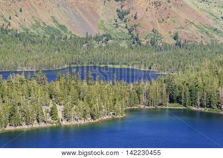 Lake George And Lake Marry