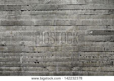 Dark Grey Board Formed Concrete Texture Background