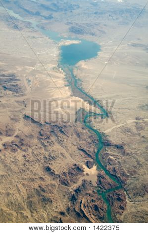 Aerial View Of Lake Havasu