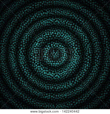 Vector Illustration of Beautiful Abstract  Hypnotic Background. EPS10