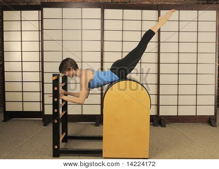 Pilates Barrel Stretch