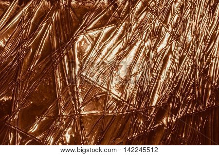 glitter glass gold background abstract texture. fusing
