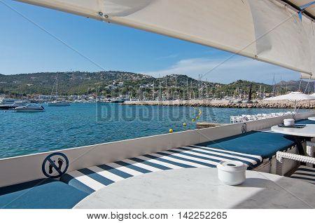 Seaside Restaurants Port Andratx Mallorca