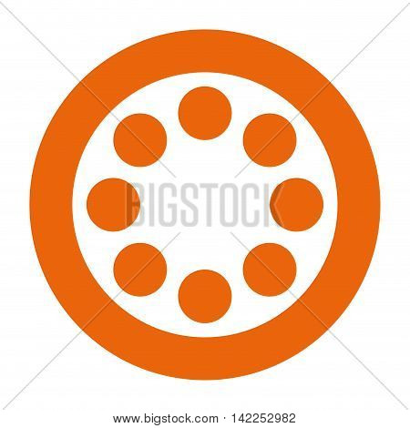 tape reel roll icon vector illustration design