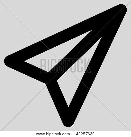 Freelance vector icon. Style is linear flat icon symbol, black color, light gray background.