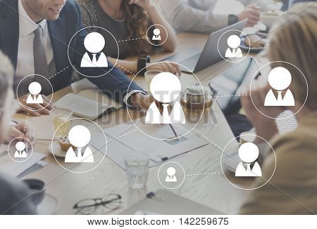 Network Networking Communicate Communicatin Connection Concept