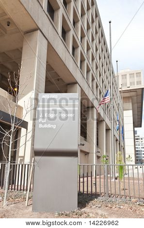 Fbi Building In Washington Dc Usa