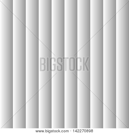 Grey striped blinds background silver louver window