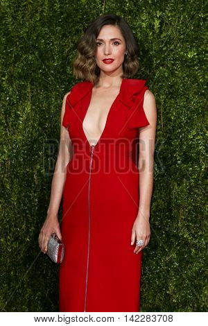 NEW YORK-JUN 7: Actress Rose Byrne attends American Theatre Wing's 69th Annual Tony Awards at Radio City Music Hall on June 7, 2015 in New York City.