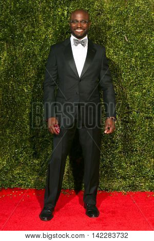 NEW YORK-JUN 7: Actor Taye Diggs attends American Theatre Wing's 69th Annual Tony Awards at Radio City Music Hall on June 7, 2015 in New York City.