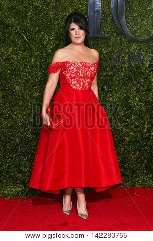 NEW YORK-JUN 7: Monika Lewinsky attends American Theatre Wing's 69th Annual Tony Awards at Radio City Music Hall on June 7, 2015 in New York City.