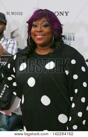 NEW YORK-APR 11: Actress Loni Love attends the world premiere of