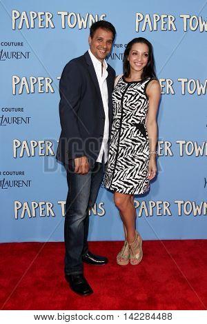 NEW YORK-JUL 21: Actor Ralph Macchio (L) and daughter Julia Macchio attend the