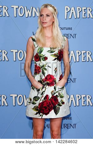 NEW YORK-JUL 21: Model Poppy Delevingne attends the