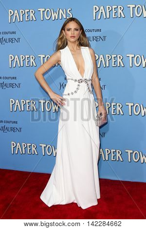 NEW YORK-JUL 21: Actress Halston Sage attends the