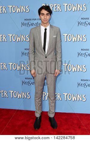 NEW YORK-JUL 21: Actor Alex Wolff attends the