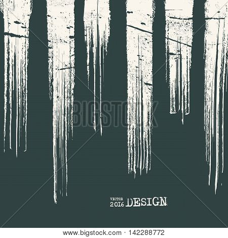 Business design templates. Artwork with Monochrome Strip Background. Abstract Modern Decoration. Painting. Wallpaper with empty space for your text. Grunge Line design. Vector illustration.