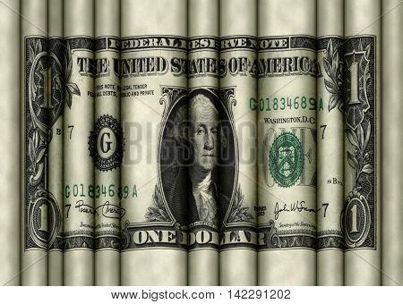 Rolling Wavy Dollar