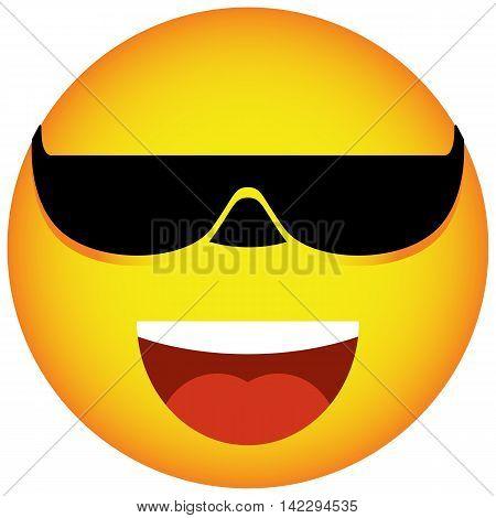 Glasses face smile face facial forum friendly behavior