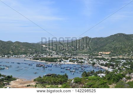 Vinh Hy Bay And Sea In Ninh Thuan, Vietnam