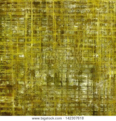Oldest vintage background in grunge style. Ancient texture with different color patterns: yellow (beige); brown; gray; green