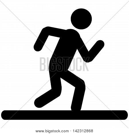 Running Men Icon  jogging men symbol people vector
