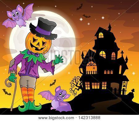 Halloween theme figure image 3 - eps10 vector illustration.