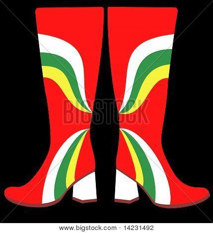 Boots Gogo Sixties