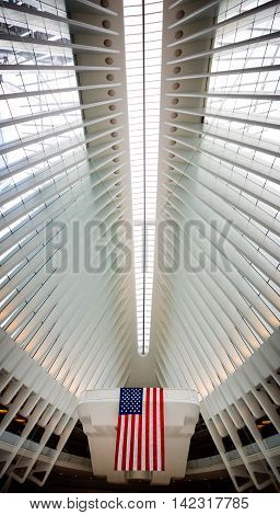 Oculus World Trade Center Transportation Hub In Nyc