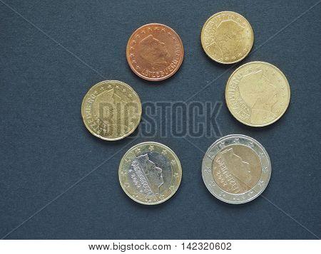 Euro (eur) Coins, Currency Of European Union (eu)
