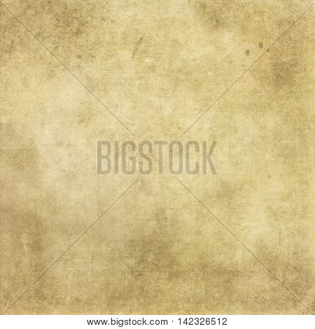 Aged paper background with space for the text. Vintage paper texture for the design.