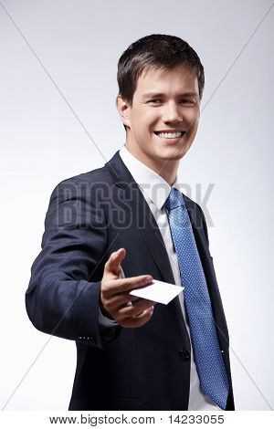 A Man With A Credit Card