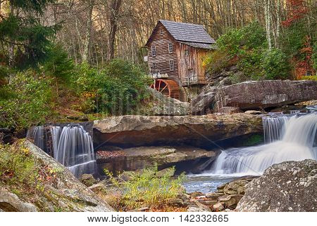 Gristmill in Babcock State Park, West Virginia