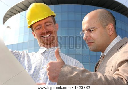 Architect And Businessman