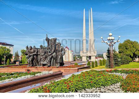 Worl War Ii Memorial In Vitebsk