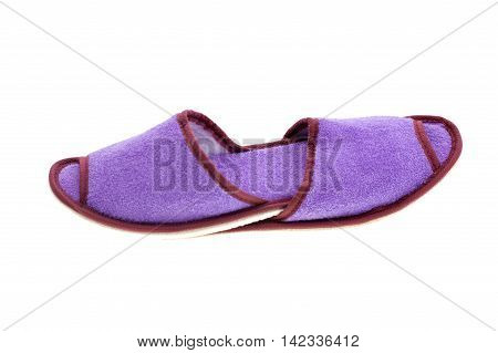 Image of Slippers isolated on white background