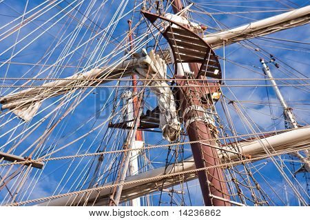 Rigging Of Historic Sailing Boats
