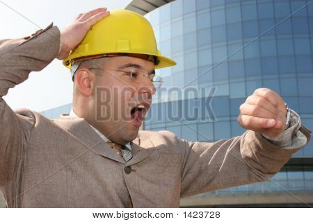Confused A Businessman